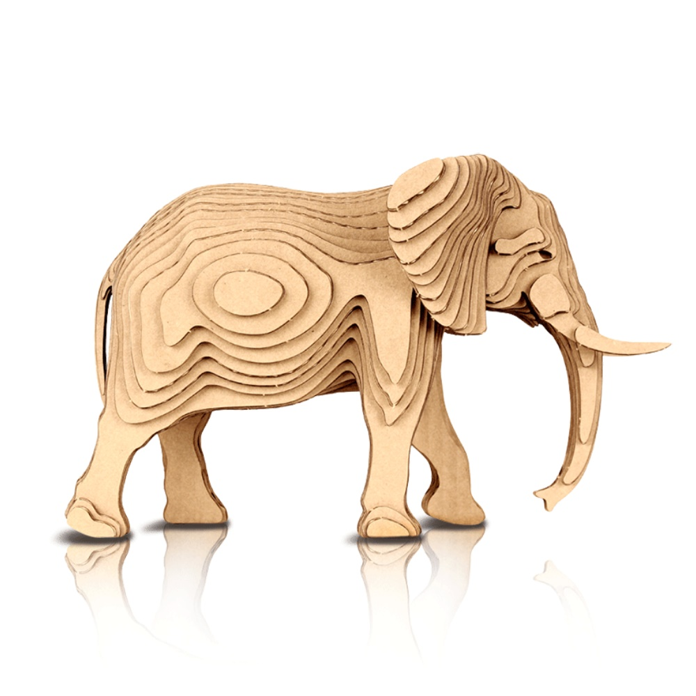 CONTAMO|手作模型-大象
