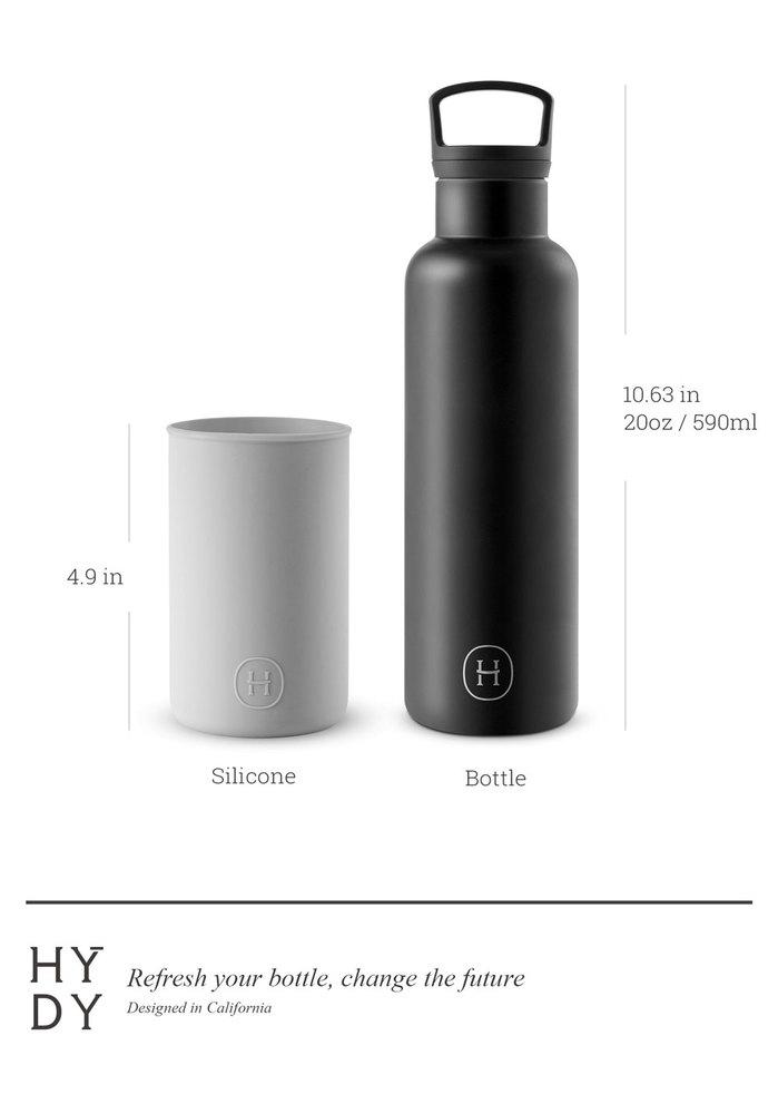 美國HYDY|CinCin Black Collection 海軍藍/黑瓶 590ml
