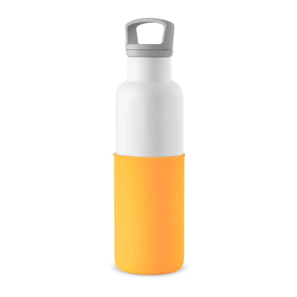 美國HYDY|CinCin White Collection 南瓜橘/白瓶 590ml