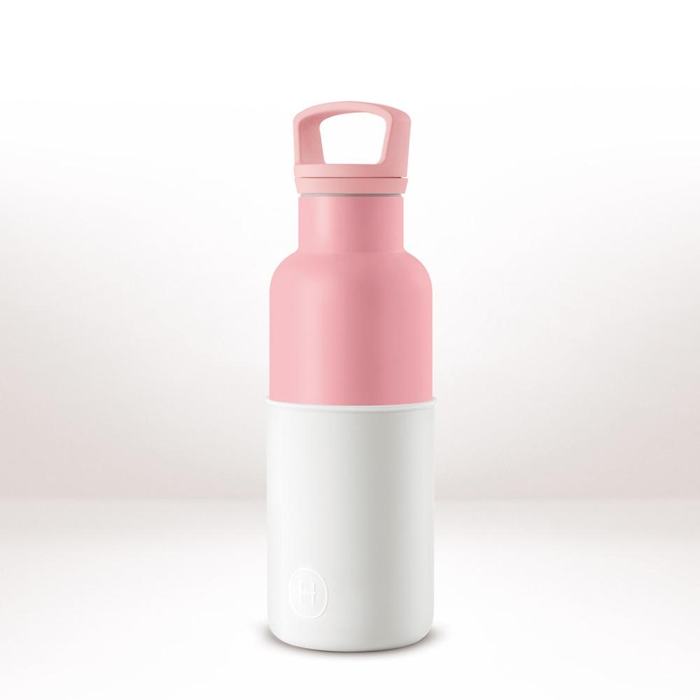 美國HYDY CinCin Déco Collection 雪白/玫瑰粉瓶 480ml