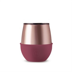美國HYDY   Delicia 系列時尚蛋型杯(蜜粉金-桑格莉亞)