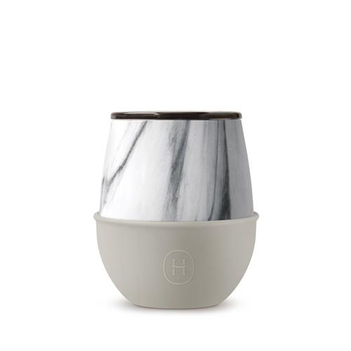 美國HYDY | Delicia 優雅蛋型杯 240ml 大理石杯-尤加利