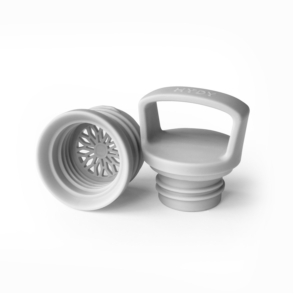 美國HYDY |時尚保溫水瓶專用瓶蓋組-灰色