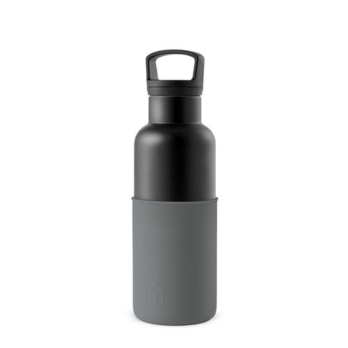 美國HYDY|CinCin 鈦灰瓶-油墨黑 480ml & 黑瓶-鐵灰 480ml 雙瓶組合