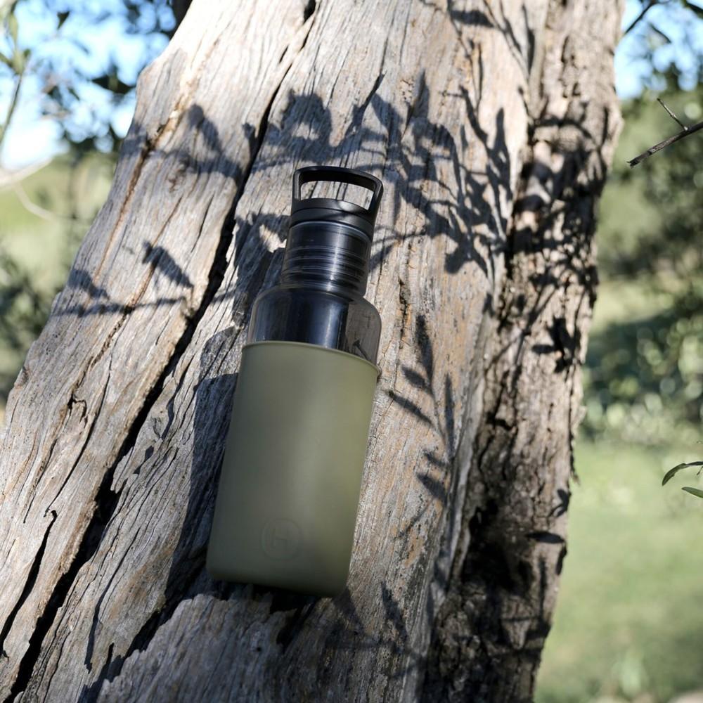 美國HYDY Estiva輕靚冷水瓶 590ml 碳黑瓶-海藻綠