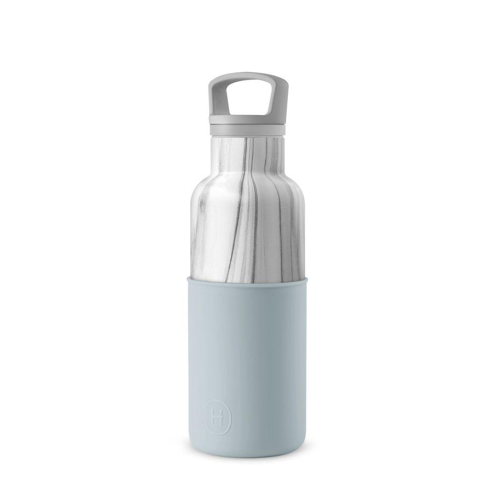 美國HYDY CinCin Déco 絕美保溫瓶 480ml 大理石瓶-積雲