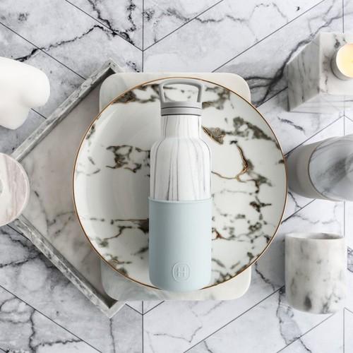 美國HYDY|CinCin Déco Collection  大理石瓶-積雲 480 ml