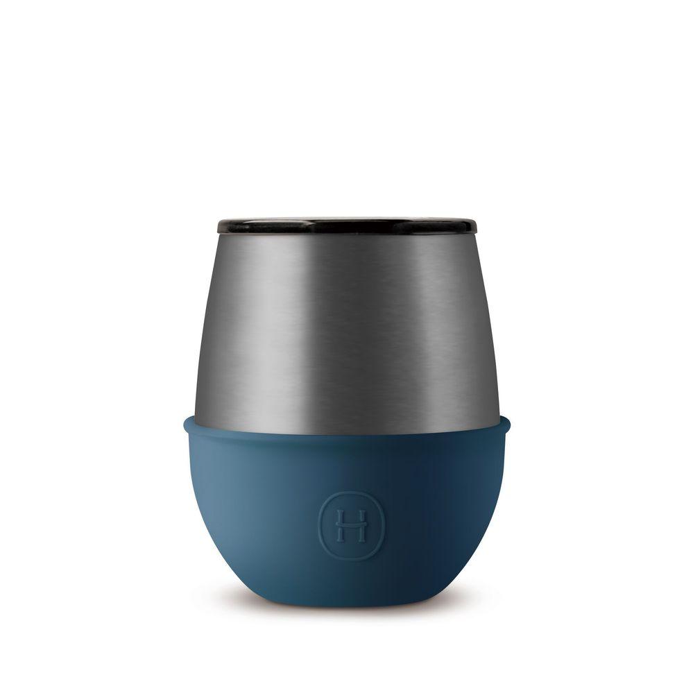 美國HYDY | Delicia 系列時尚蛋型杯(鈦灰-海軍藍)