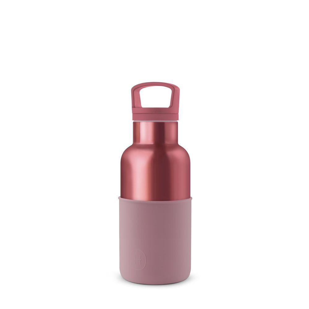 美國HYDY|CinCin Déco 絕美保溫瓶 360ml 玫瑰金瓶-乾燥玫瑰