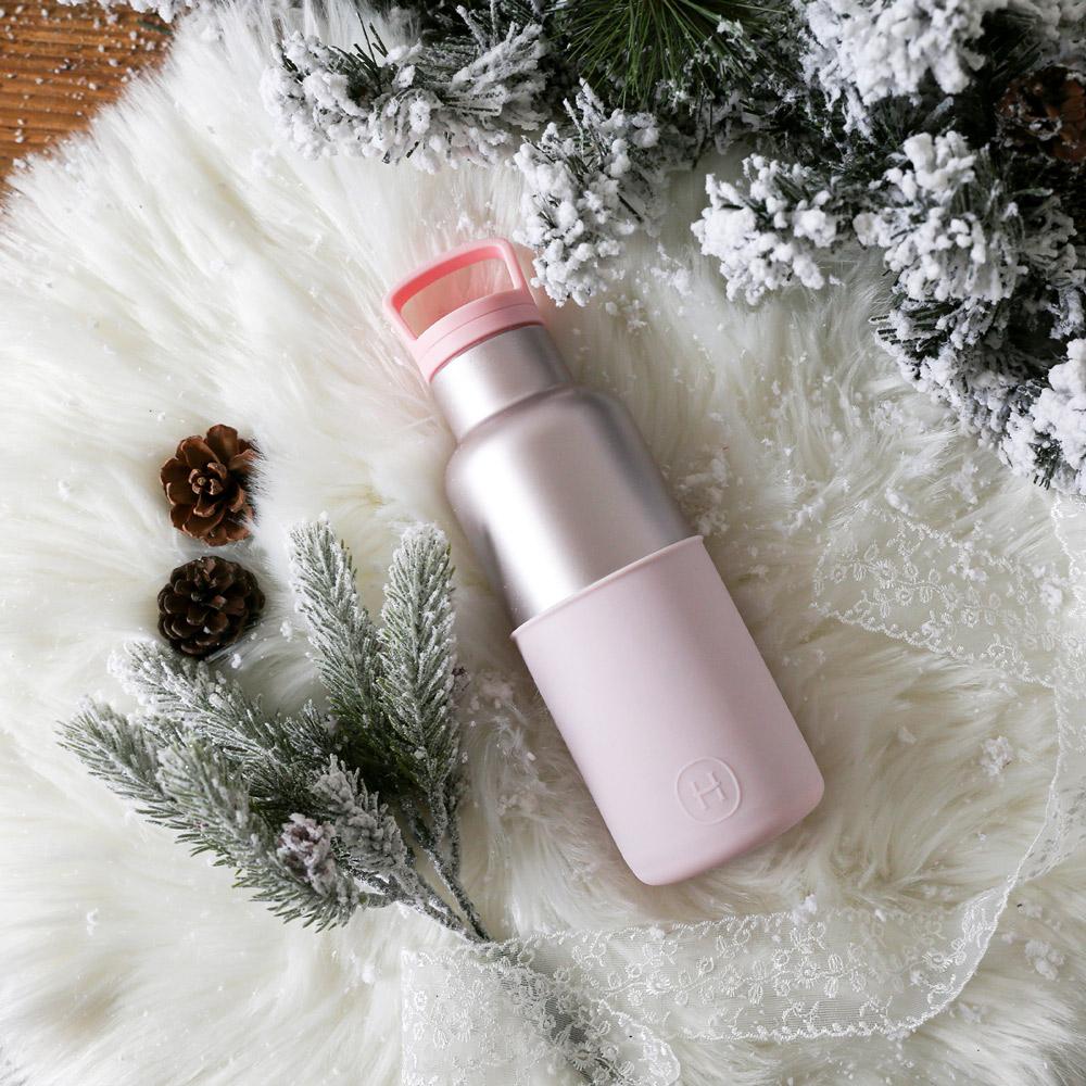 美國HYDY|絕美保溫瓶 480ml 珠光粉瓶-櫻花粉