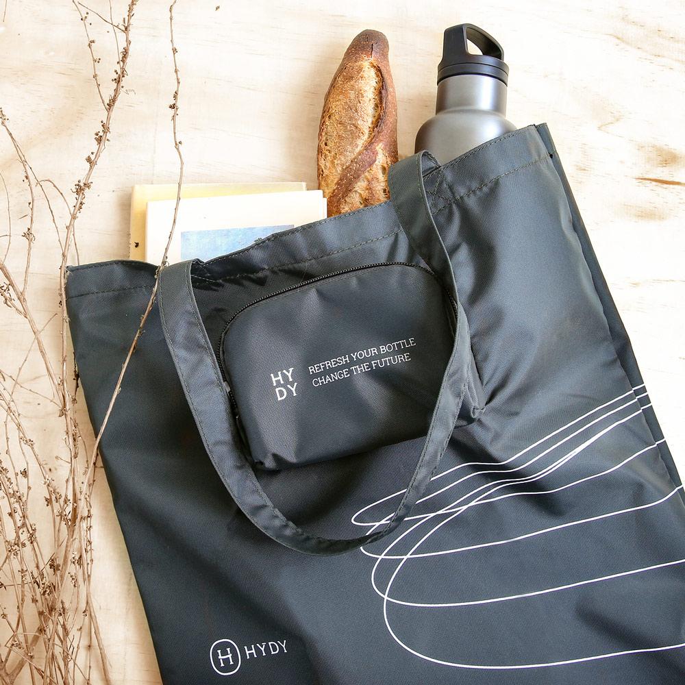 美國HYDY|時尚環保購物袋-炭灰色