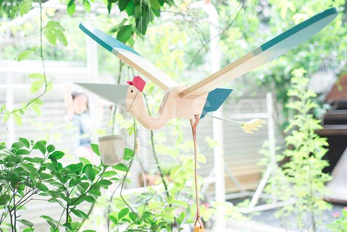 江口設計 Eguchi toys  木製飛鳥 - 海鷗 Seagull