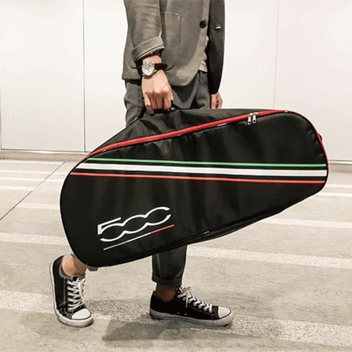 FIAT飛雅特|義大利頂尖汽車品牌 FIAT500 電動滑板車-含原廠背袋 (酷炫黑)