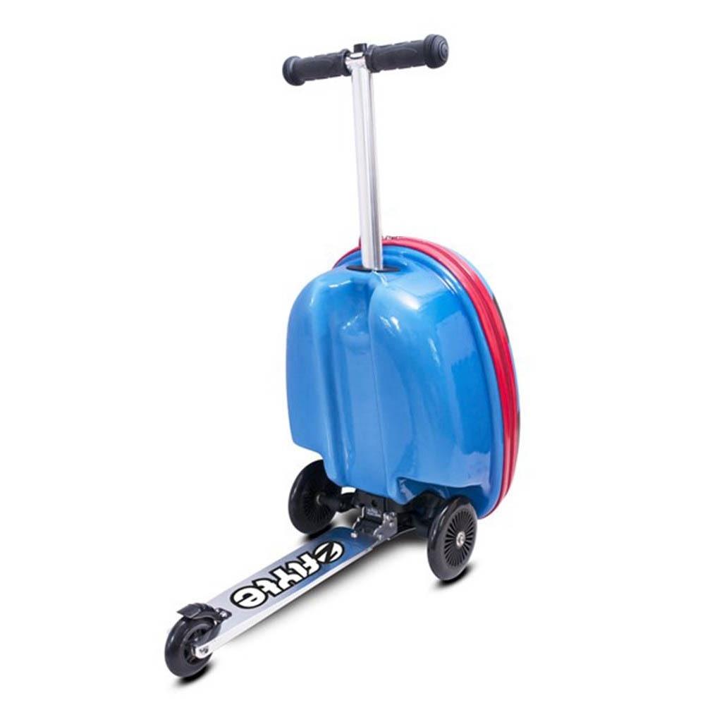 Zinc Flyte  多功能滑板車-太平洋藍