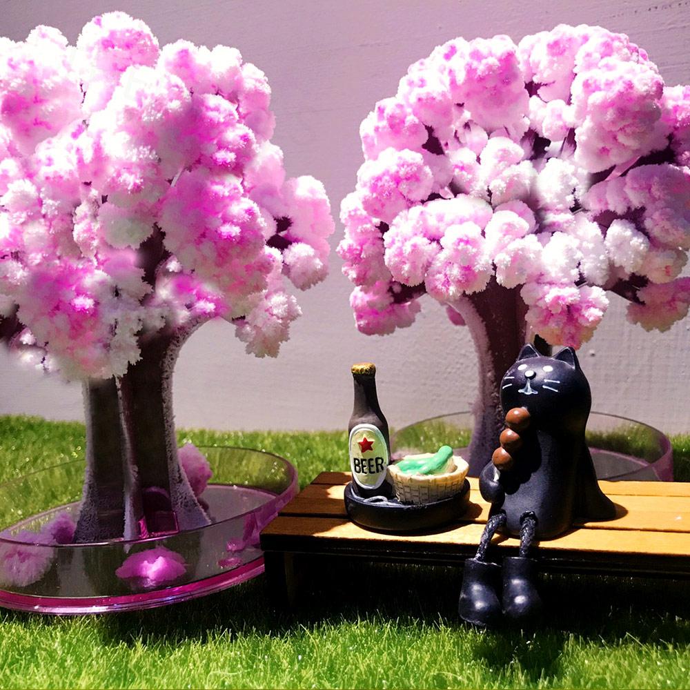 Magic 櫻|紙樹開花-療癒系魔法櫻花樹(一入)