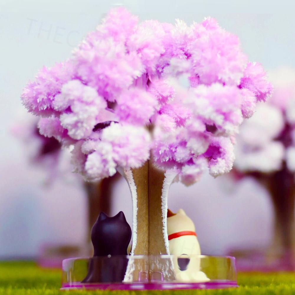 Magic 櫻|紙樹開花-療癒系魔法櫻花樹(兩入)