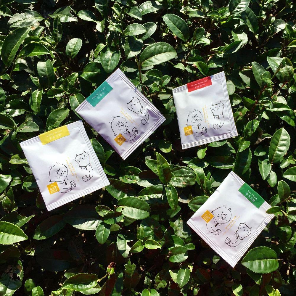 茶水部|精選綜合茶盒-金萱,翠玉,四季春,蜜香紅茶3克袋茶20入裝