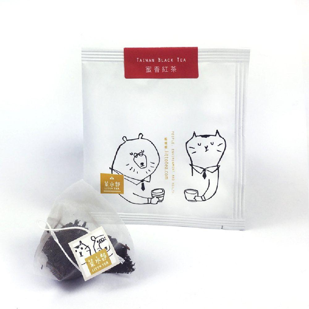 茶水部|精選單品茶盒-蜜香紅茶3克袋茶10入裝