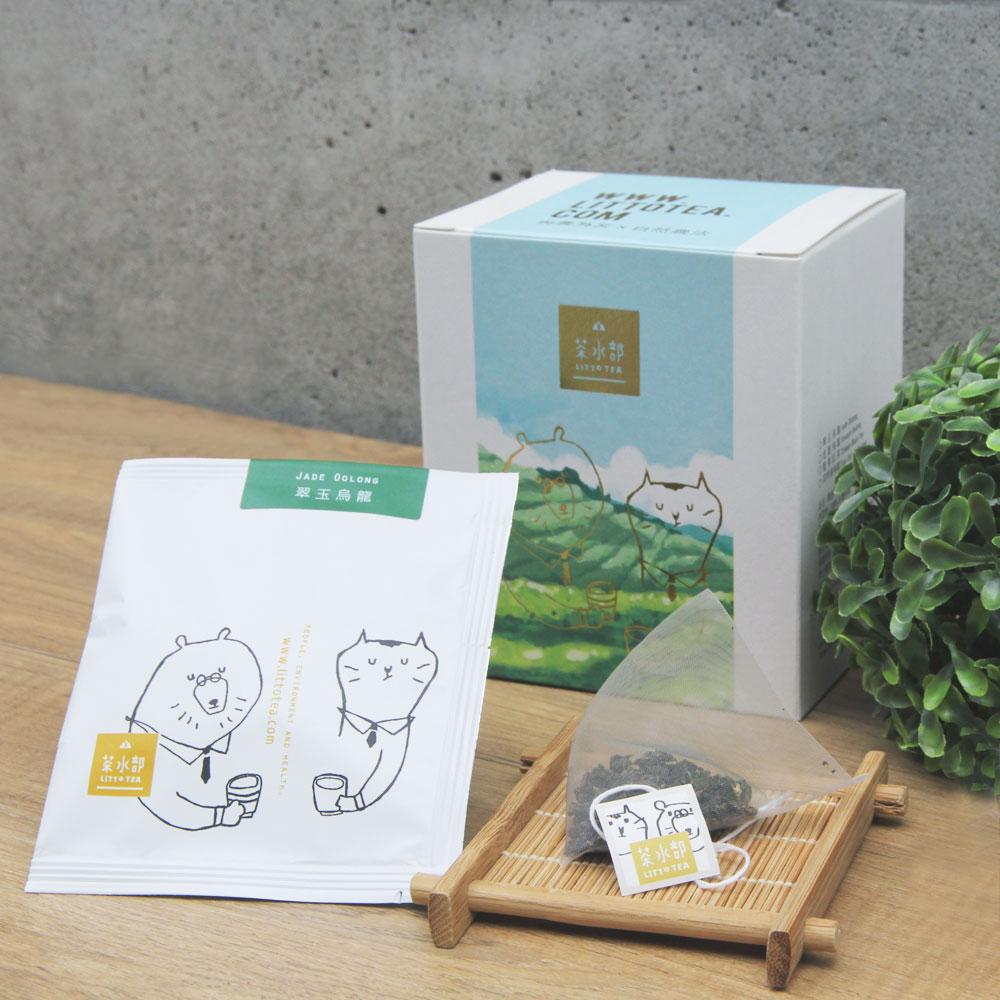 茶水部|精選單品茶盒-翠玉烏龍3克袋茶10入裝