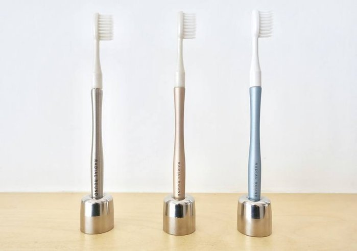 RADIAL ROUND|輕量減減塑牙刷1柄1刷頭
