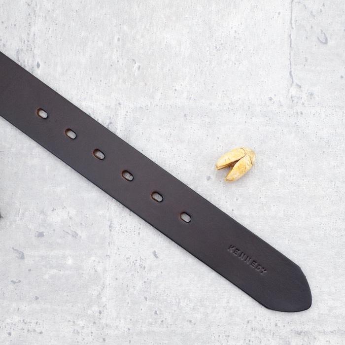 Be Two|38mm義大利植鞣革手工寬版皮帶