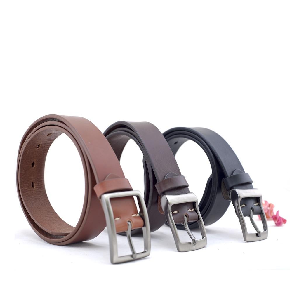 Be Two|34mm義大利植鞣革手工標準皮帶