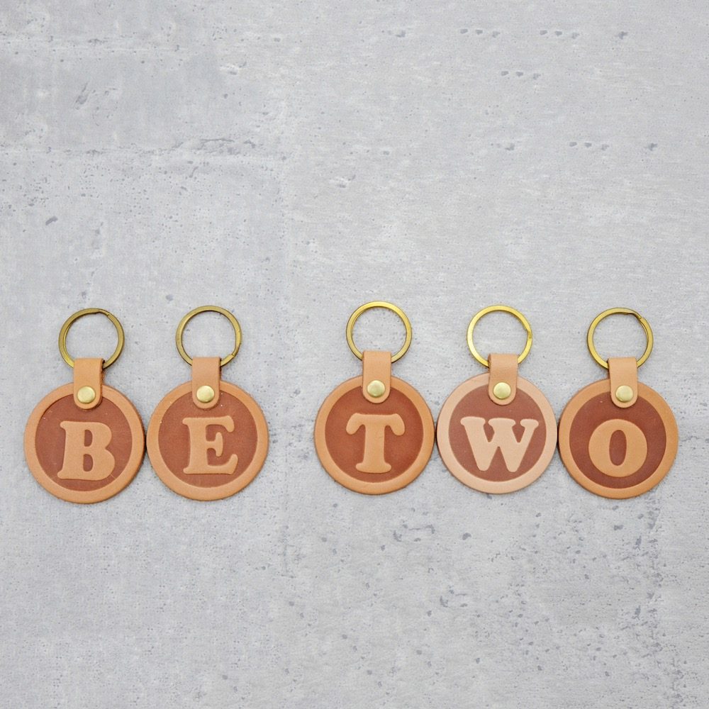 Be Two|義大利植韖革鑰匙圈