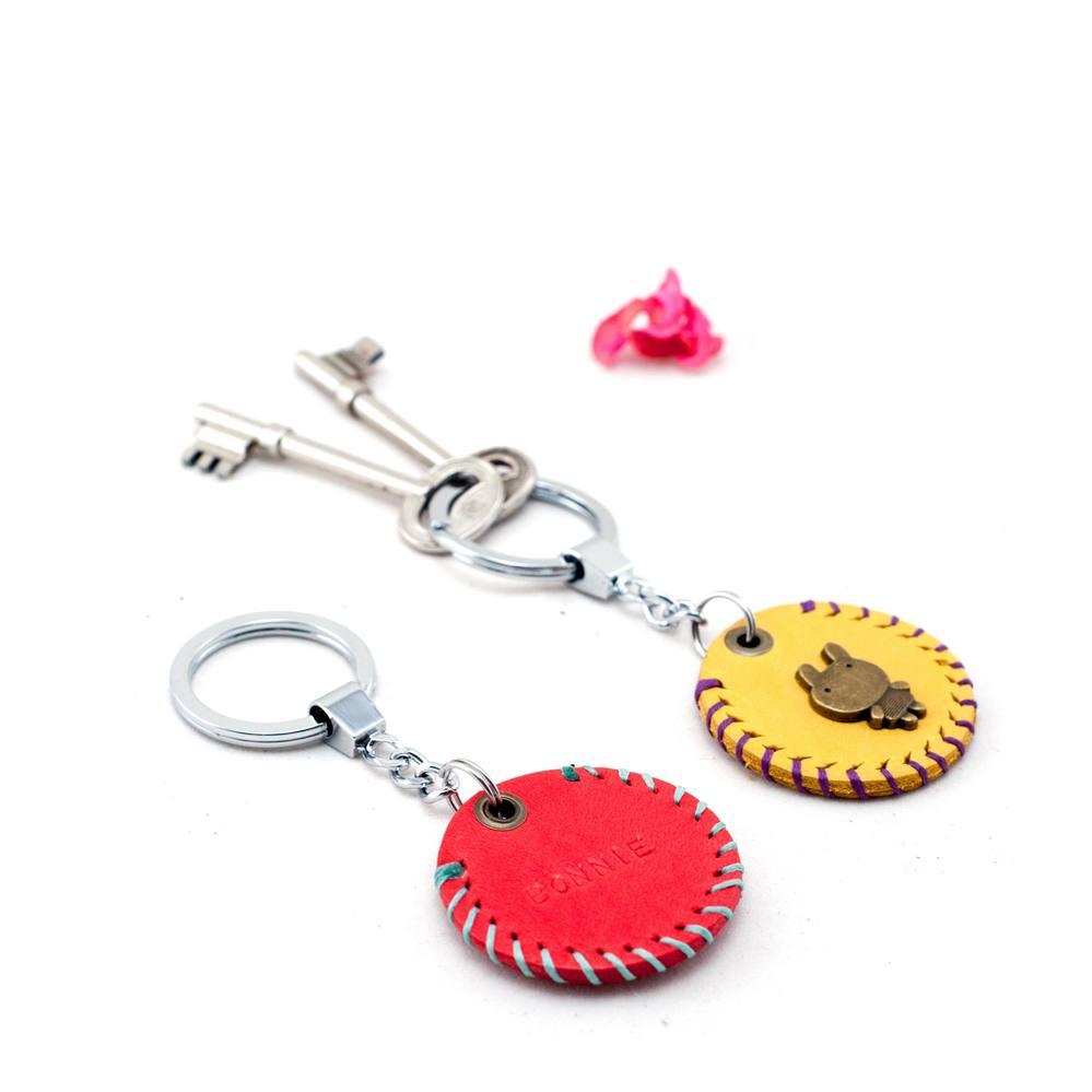 Be Two|真皮造型鑰匙圈