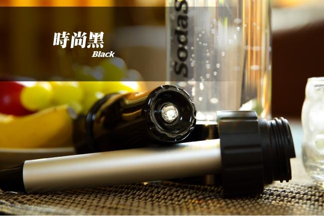 澳洲SodaSparkle|舒打健康氣泡水機-國民簡約款(時尚黑)ECO1L-BK