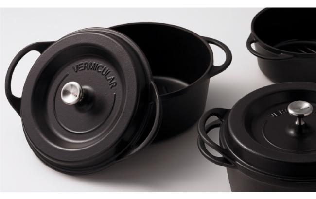 (複製)日本Vermicular|琺瑯鑄鐵鍋18cm(珍珠灰)VPOT18-GY