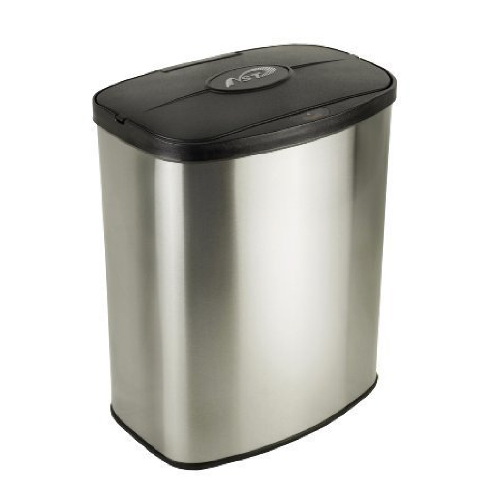 美國NINESTARS|時尚不銹鋼感應垃圾桶8L(廚衛系列)