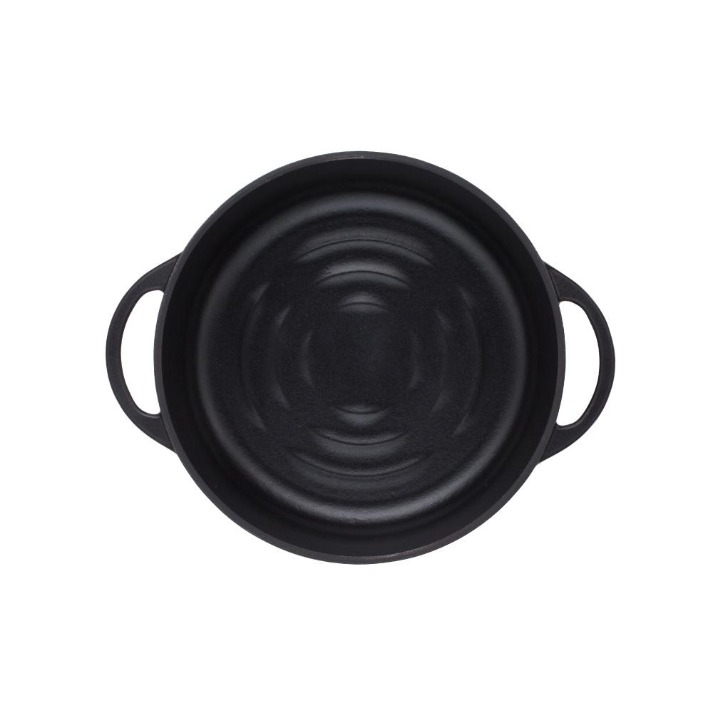 日本Vermicular 琺瑯鑄鐵鍋26cm淺鍋(碳黑)VPOT26S-MK