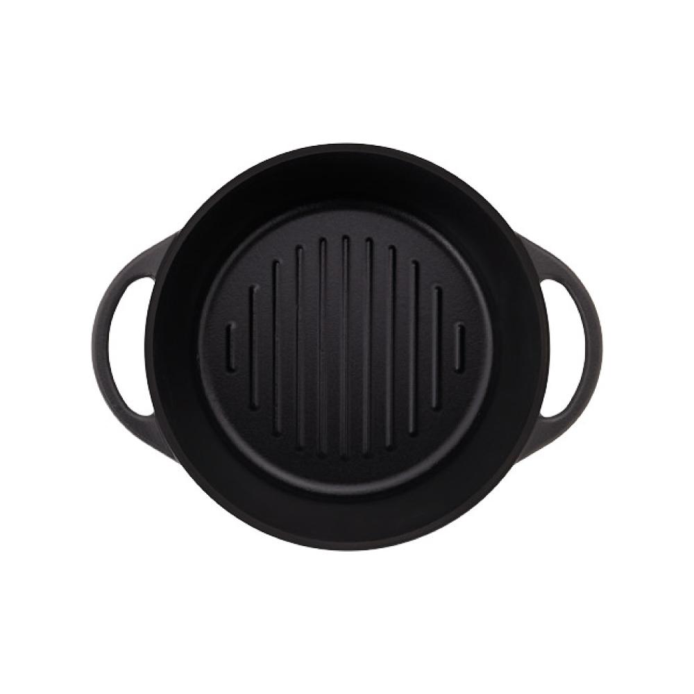 日本Vermicular 琺瑯鑄鐵鍋18cm(碳黑)VPOT18-MK