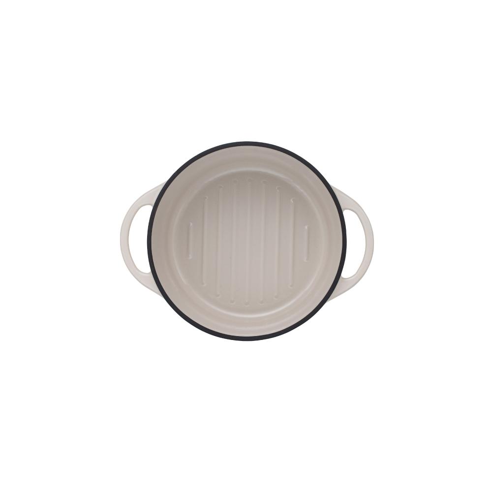 日本Vermicular 琺瑯鑄鐵鍋18cm(米黃)VPOT18-NB