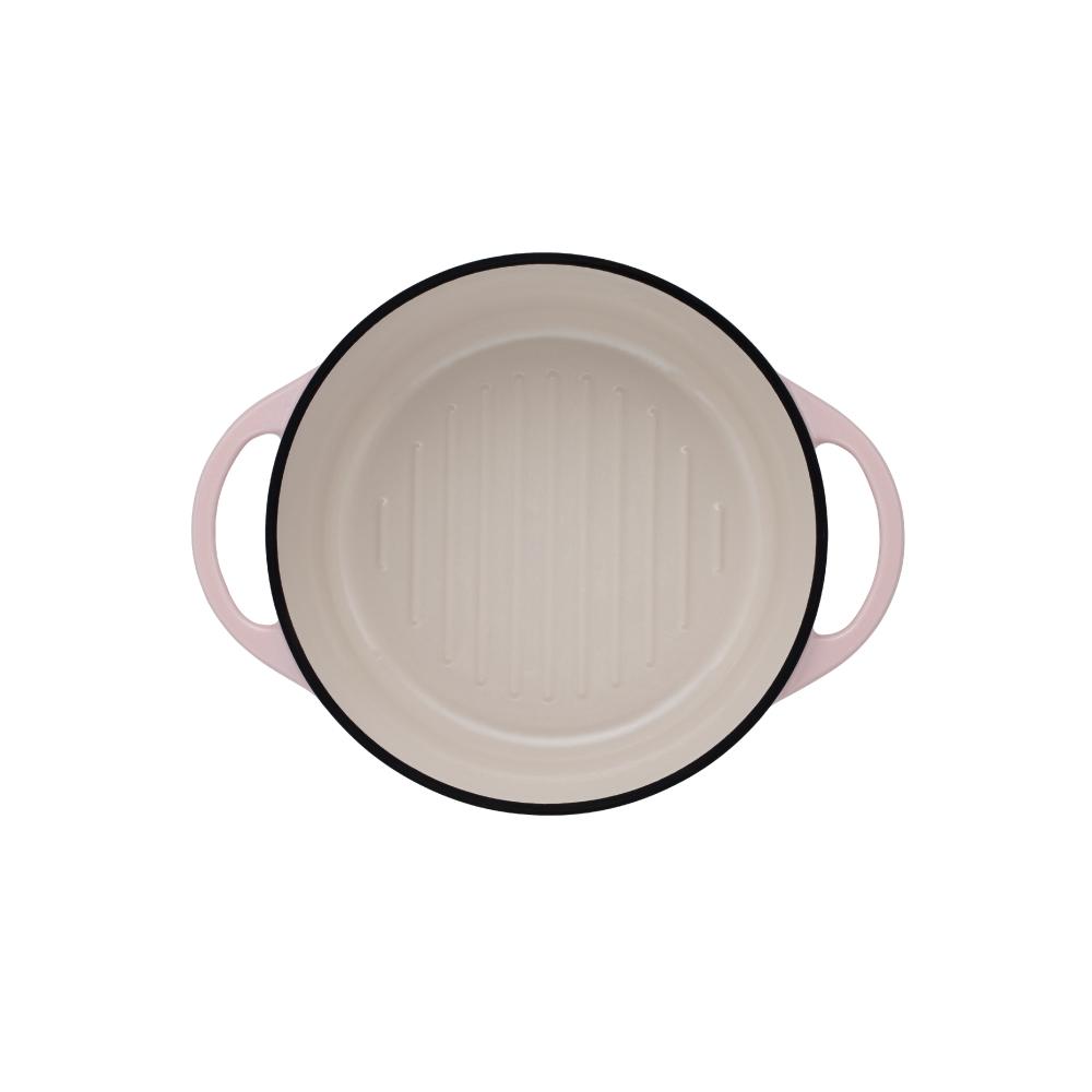 日本Vermicular 琺瑯鑄鐵鍋22cm(珍珠粉)VPOT22-PK