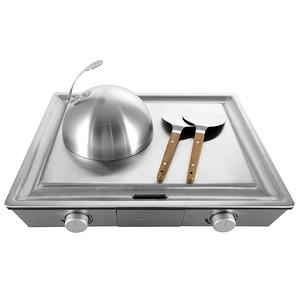 瑞士Solis|專業鐵板燒機KHP-795T送SodaSparkle舒打健康氣泡水機