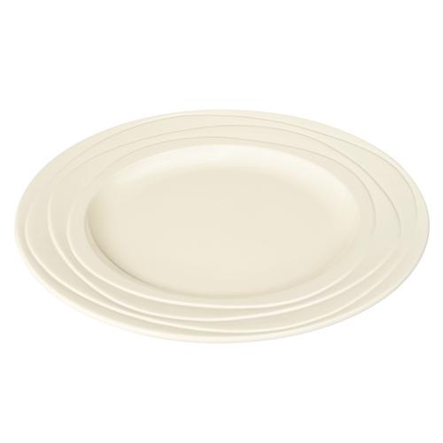 英國Jamie Oliver|波浪紋設計白瓷盤27公分
