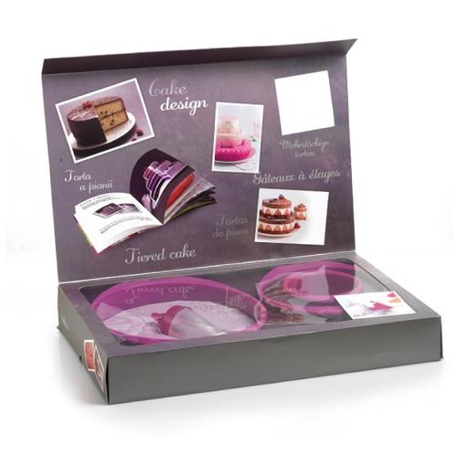 法國mastrad  |  三層蛋糕模具禮盒組