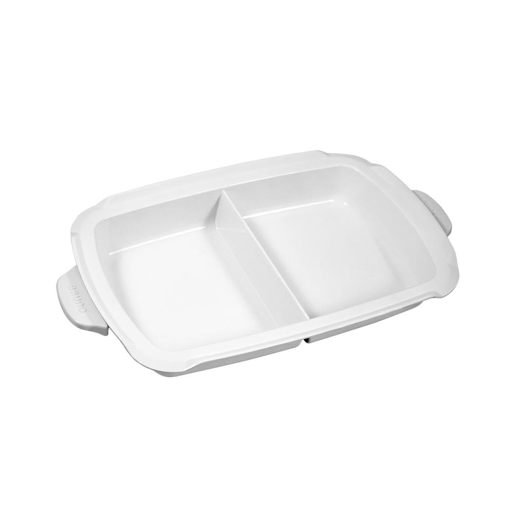 綠恩家enegreen|日式多功能烹調大器電烤盤  -專用鴛鴦陶瓷鍋KHP-777T-NABE