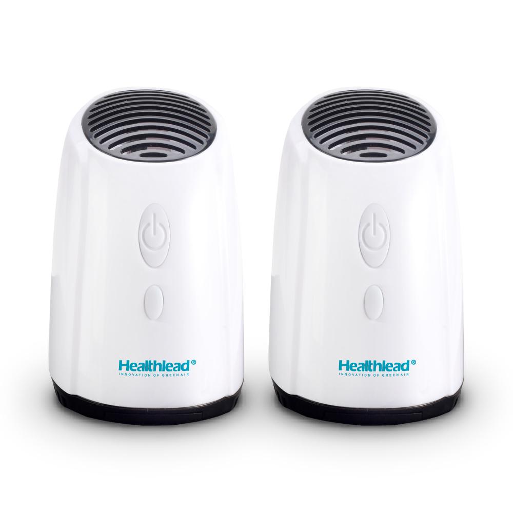 Healthlead|迷你空氣清淨機(白)二入組 EPI-939