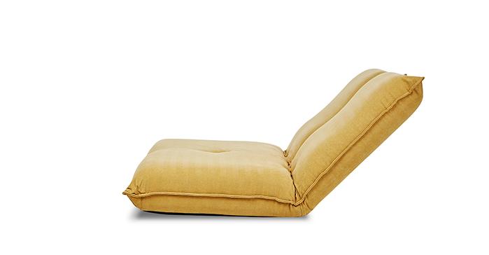AJ2 │ 小泊 │ 芥茉黃 │ 雙人沙發和室椅