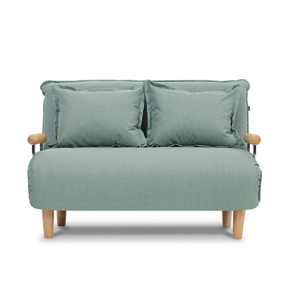 AJ2|奧圖|湖水綠|雙人座沙發床