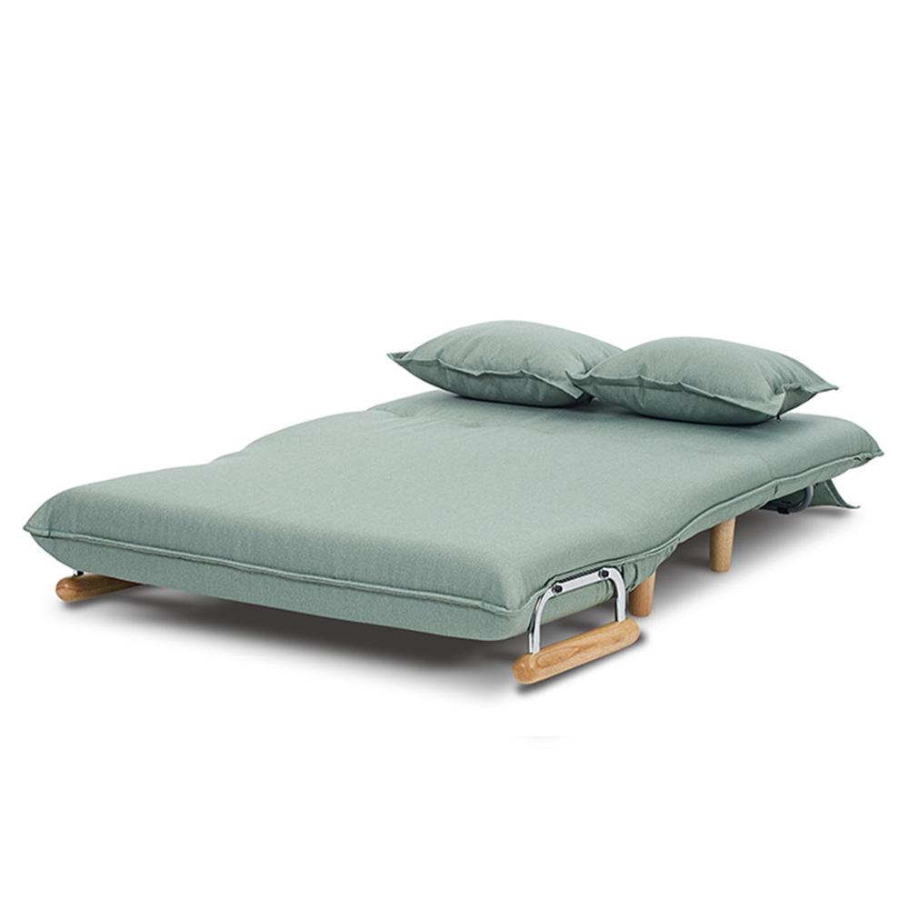 AJ2 奧圖 湖水綠 雙人座沙發床