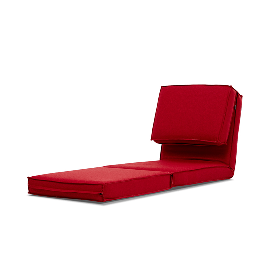 AJ2|小樽|棠莓紅|單人座和室沙發椅