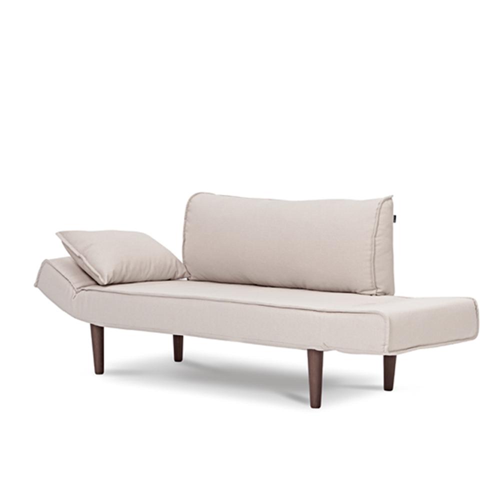AJ2|雨果|花瓣米白|雙人座沙發床