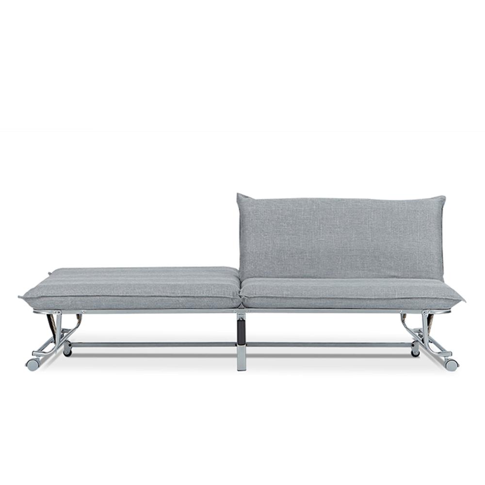 AJ2 摺 石墨灰 多功能折疊沙發床