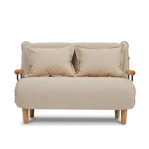AJ2|奧圖|花瓣米白|雙人座沙發床