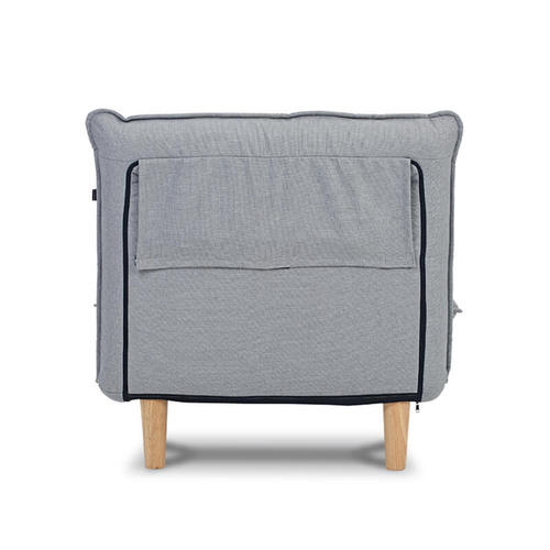 AJ2|奧圖|石墨灰|單人座沙發床