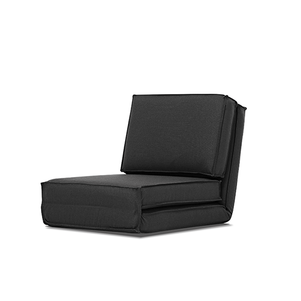 AJ2|小樽|子夜黑|單人座和室沙發椅