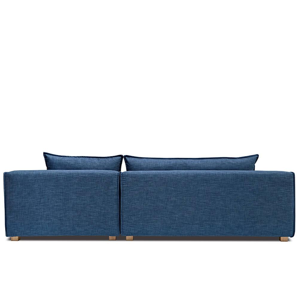 AJ2|奧斯陸|紳士瓦藍|L型沙發